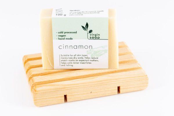 Cinnamon Virgin Soap