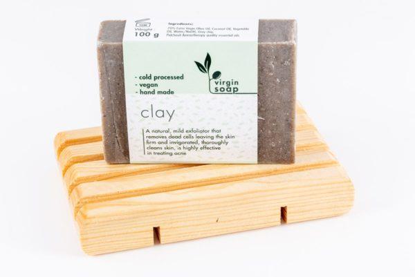 Clay Virgin Soap