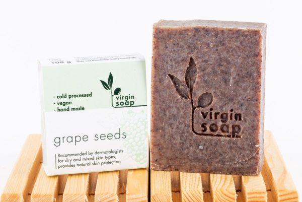 Grape Seeds Virgin Soap